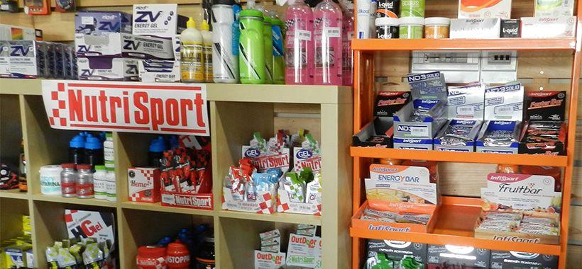 Infisport, Nutrispot y Zipvitsport las marcas de nutrición de Ciclomotion